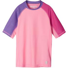 Reima Joonia Swim Shirt Girls neon pink